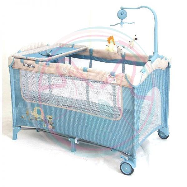 Манеж-кровать Babyton двухуровневый